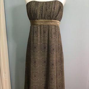 Ted Baker London   Silk Strapless Evening Dress
